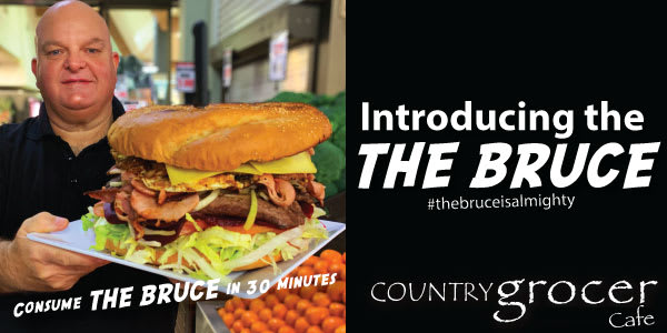 The Bruce Challenge - Country Grocer