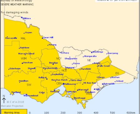 Severe weather warning Ballarat 17 July 2018.PNG