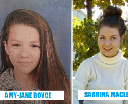 missing teens amy jane boyce sabrina maclean april 2019