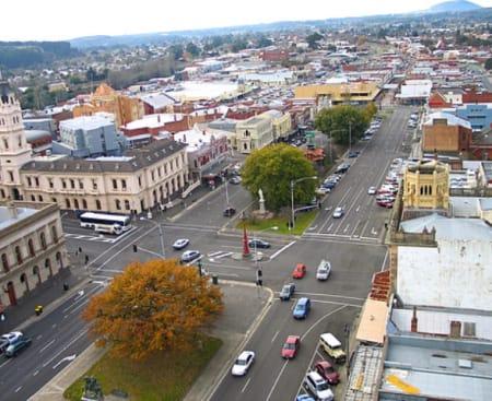 Sturt Street aerial