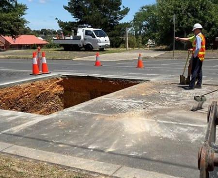 fussell st east balarat mineshaft under road dec 2019 pic cob fb 28 o