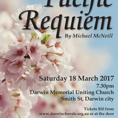 Concert: Pacific Requiem - Part of the Territory Remembers Commemorations