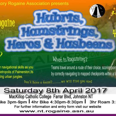 Hubris, Hamstrings, Heros & Hasbeens