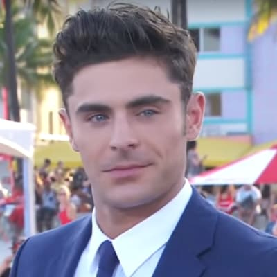 469px Zac Efron on the red carpet of the Baywatch in Miami 02