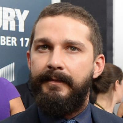 Shia LaBeouf October 2014