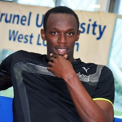 Usain Bolt at Brunel University