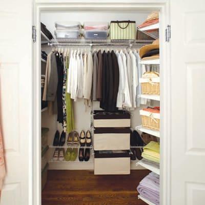 Rubbermaid HomeFree series closet system
