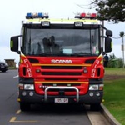 QLD Fire & Rescue Scania pumper