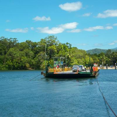 Daintree ferry - Fähre
