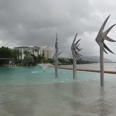 Lagoon at Cairns