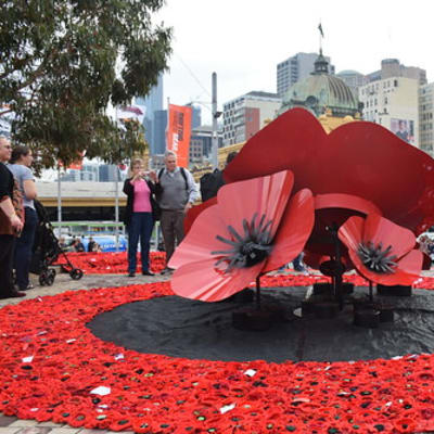 ANZAC Day 2015 Melbourne