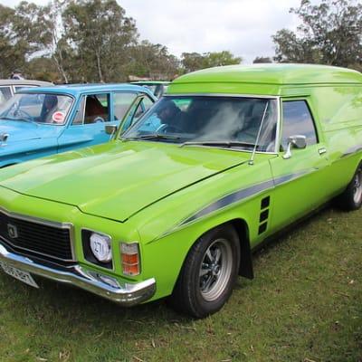 1975 Holden HJ Sandman Panel Van