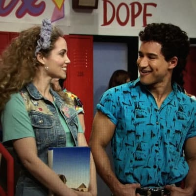 A.C. Slater and Jessie Spano are vampires. Swear to god.