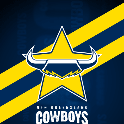 North Queensland Cowboys iPhone X Lock Screen Wallpaper