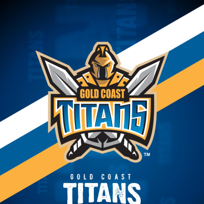 Gold Coast Titans iPhone X Lock Screen Wallpaper