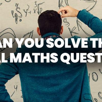 viral maths question header