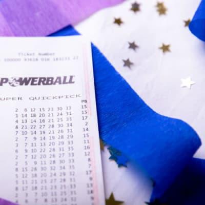 Powerball Confetti Winner Image Supplied