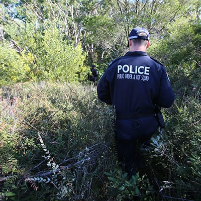 Byron Bay NSW Police Force Search 600x400