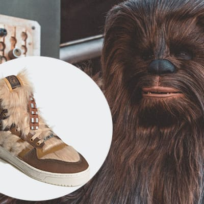 chewbacca adidas shoe