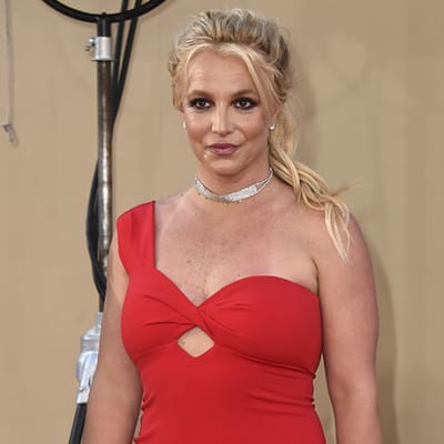 FILE - Britney Spears arrives at the Los Angeles premiere of