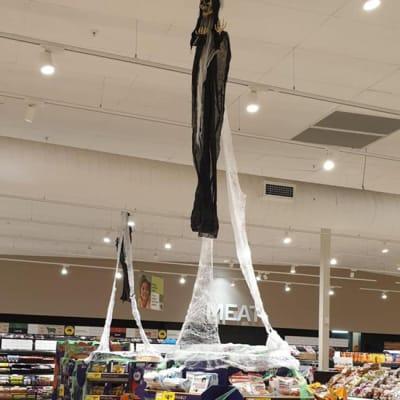 woolworths display halloween