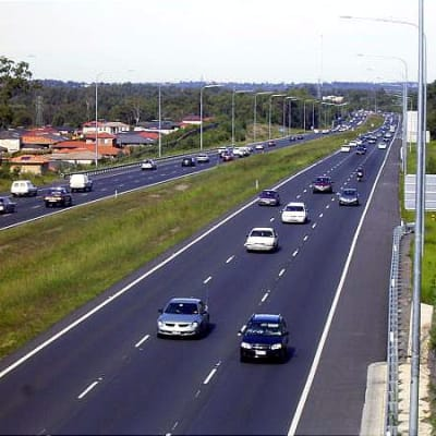 Bruce Highway Griffin By Aus Roads at English Wikipedia - Transferred from en.wikipedia to Commons., Public Domain.jpg