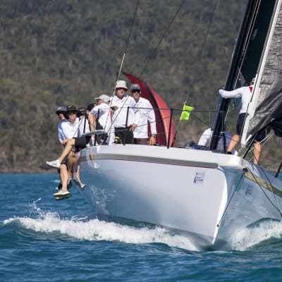 Airlie Beach, Queensland - Australia - August 10, 2108: VICTOIRE(Photo by Andrea Francolini)photo credit mandatoryEditorial online and print usage only.