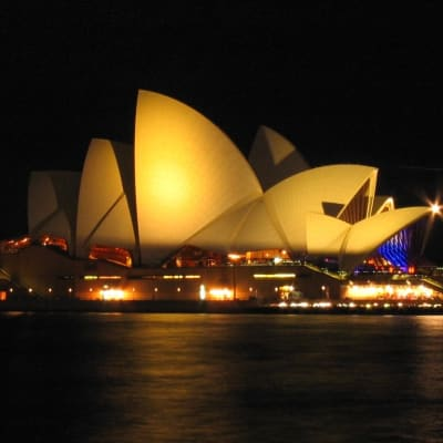 Sydney Opera House at night (1)
