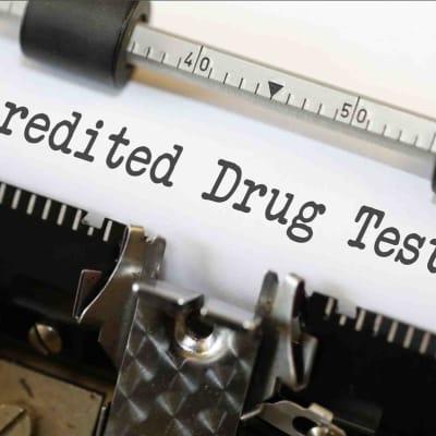 Drug Testing text