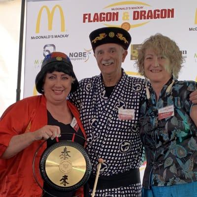 Flagon and Dragon 2019 gong