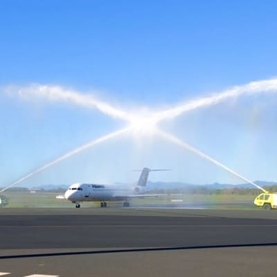 Whitsunday Airport Alliance 1st flight in