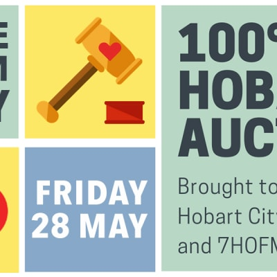 100% Hobart Auction - donate now