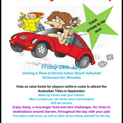 The Amazing Darwin Car Rally