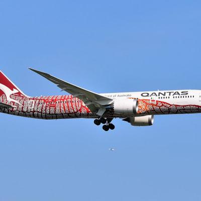 1024px-Qantas_Boeing_787-9_Dreamliner_VH-ZNG_Emily_Kame_Kngwarreyes_Yam_Dreaming_livery_approaching_JFK_Airport.jpg