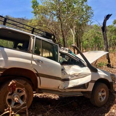 Kakadu crash 1
