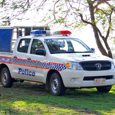 NT Police Hilux