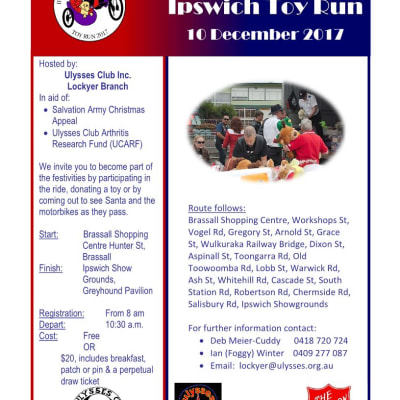 The Ipswich Toy Run