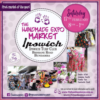 The Handmade Expo market - Ipswich