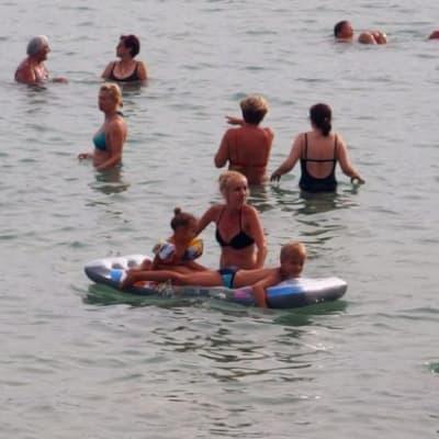 Family Basking In The Sea.jpg