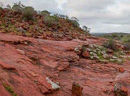 gawler ranges red rock gal