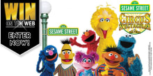 GOLD win on the web Sesame Street Circus
