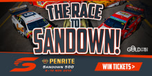 race to sandown slider