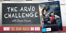 arvo challenge slider iron mask