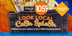 magic1059 look local cash splash slider
