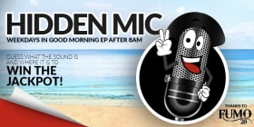 hidden mic slider