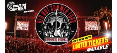 NSW WOL WFM red hot summer tour slider