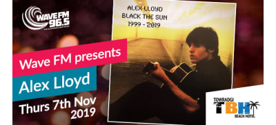 Wave FM presents Alex Lloyd
