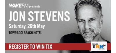 Wave FM presents Jon Stevens slider