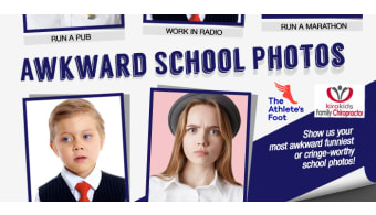 awkward school photo slider logos