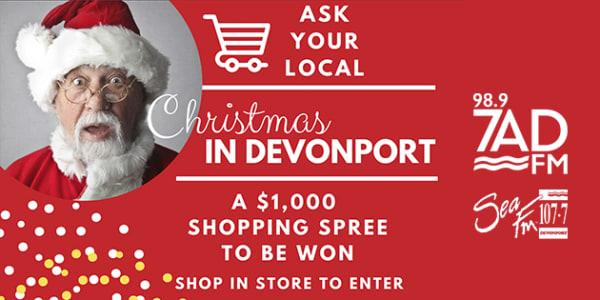 Christmas in devonport slider 2019